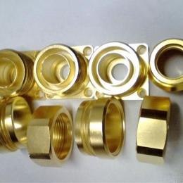 铜件抛光效果